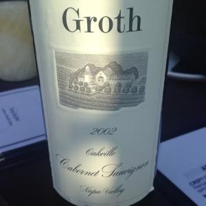 2002 Groth Oakville Cabernet